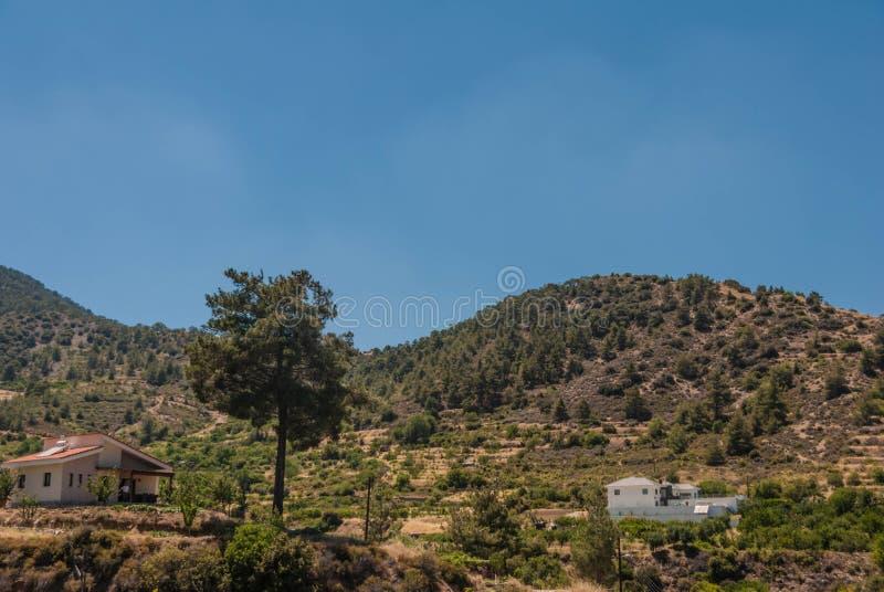 Горы Troodos стоковая фотография rf