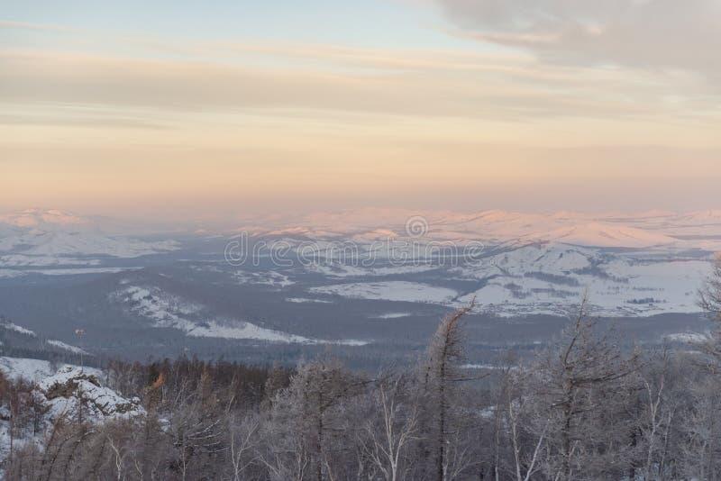 Зима в Урал стоковое фото rf