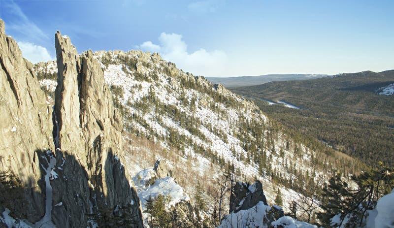 горы ural стоковое фото rf