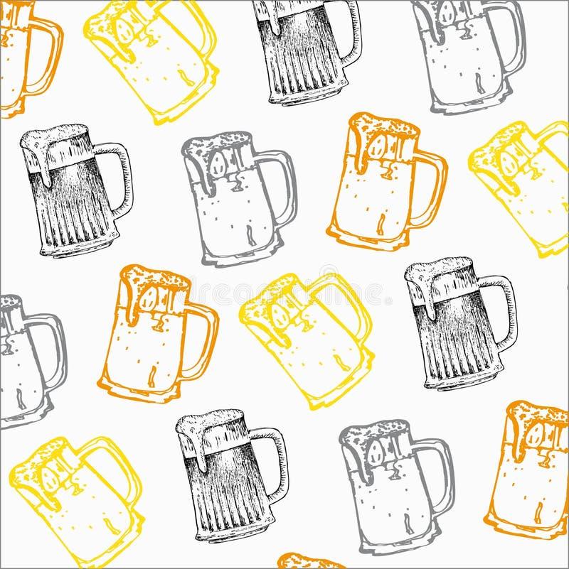 Горькое пиво иллюстрация штока