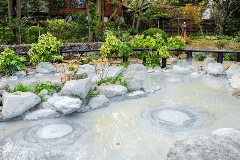 Горячая ванна в Beppu стоковая фотография rf