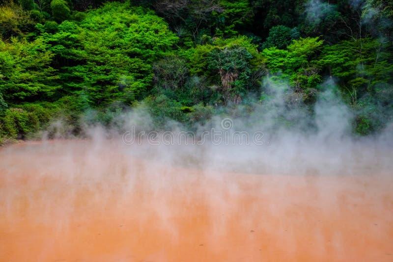 Горячая ванна в Beppu стоковая фотография
