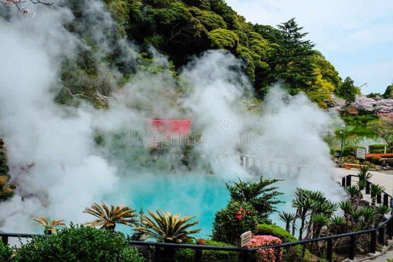 Горячая ванна в Beppu стоковое фото rf