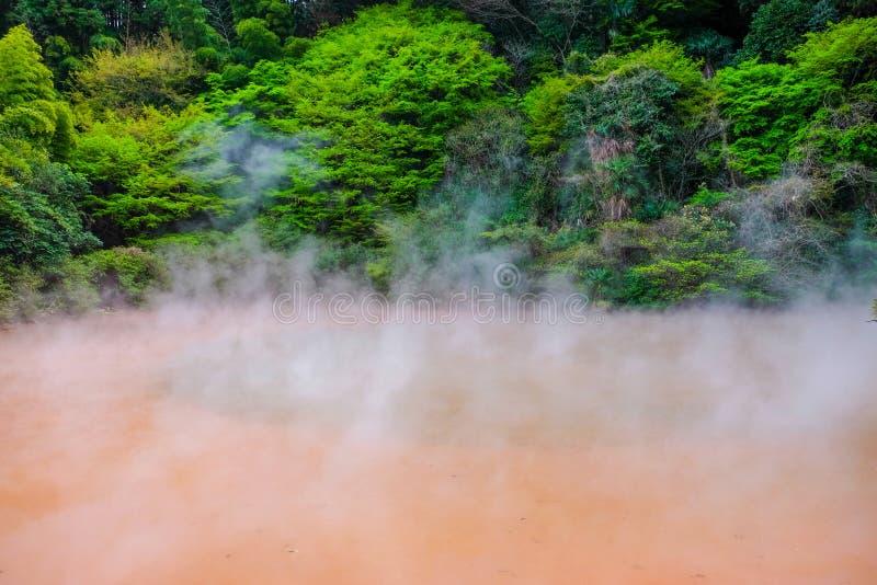 Горячая ванна в Beppu стоковые изображения