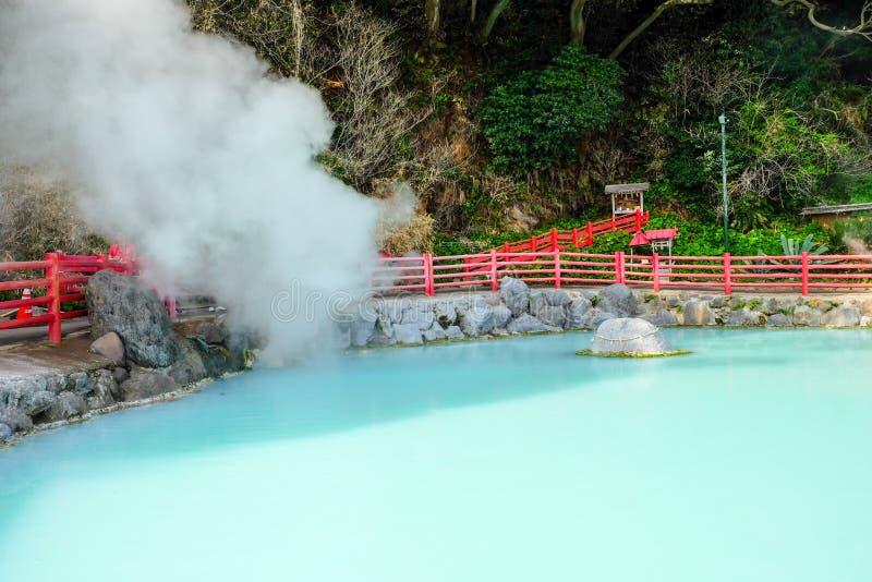 Горячая ванна в Beppu стоковые фото