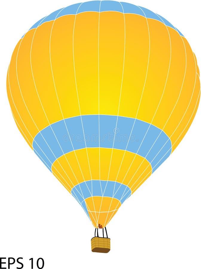Горячая иллюстрация вектора воздушного шара иллюстрация вектора