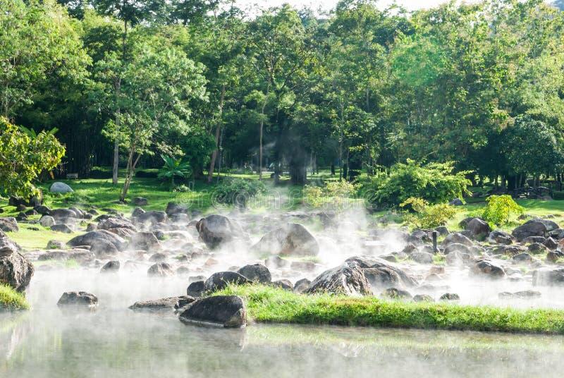 Горячая минеральная вода стоковое изображение rf
