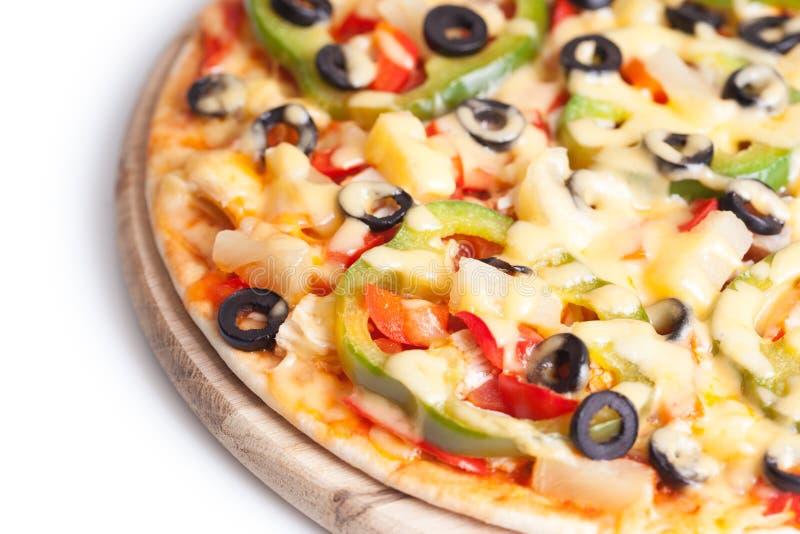 горячая пицца вкусная стоковые фотографии rf