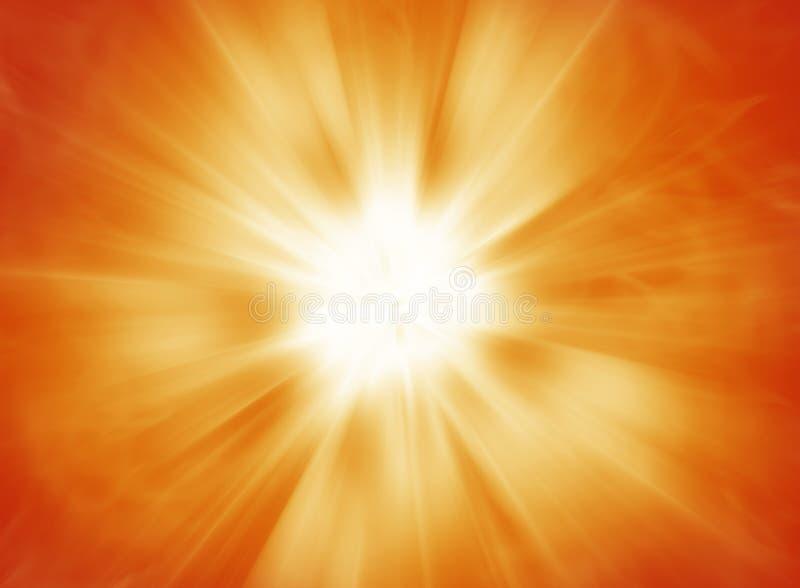 Горячая солнечная предпосылка взрыва бесплатная иллюстрация