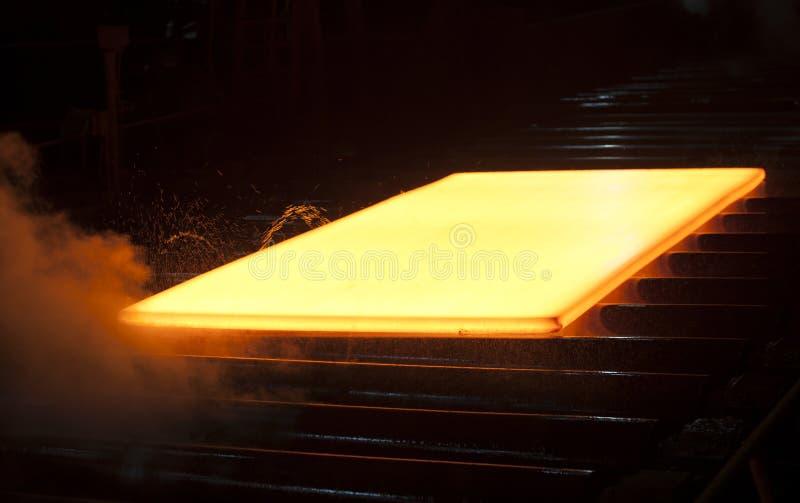 горячая сталь стоковые фотографии rf