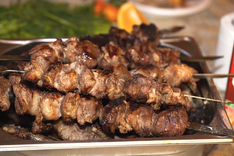 горячее мясо стоковые изображения rf