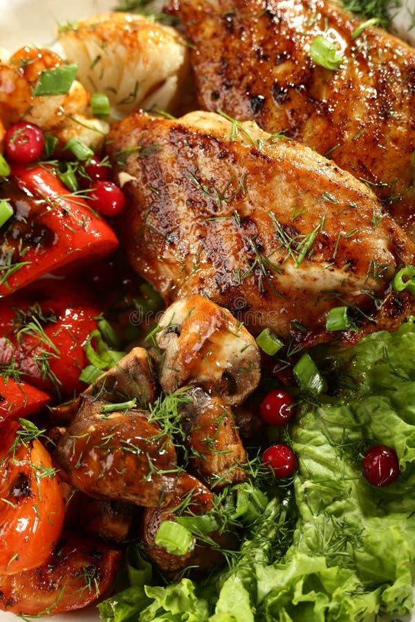 Горячее мясо стоковые изображения