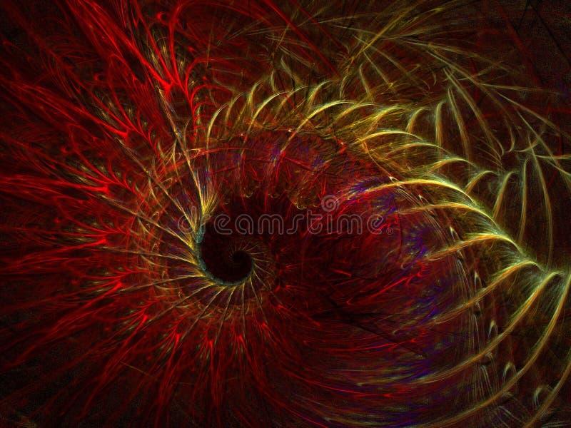 горячие ветры иллюстрация вектора