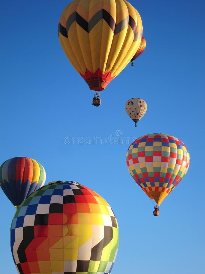 Горячие воздушные шары стоковая фотография