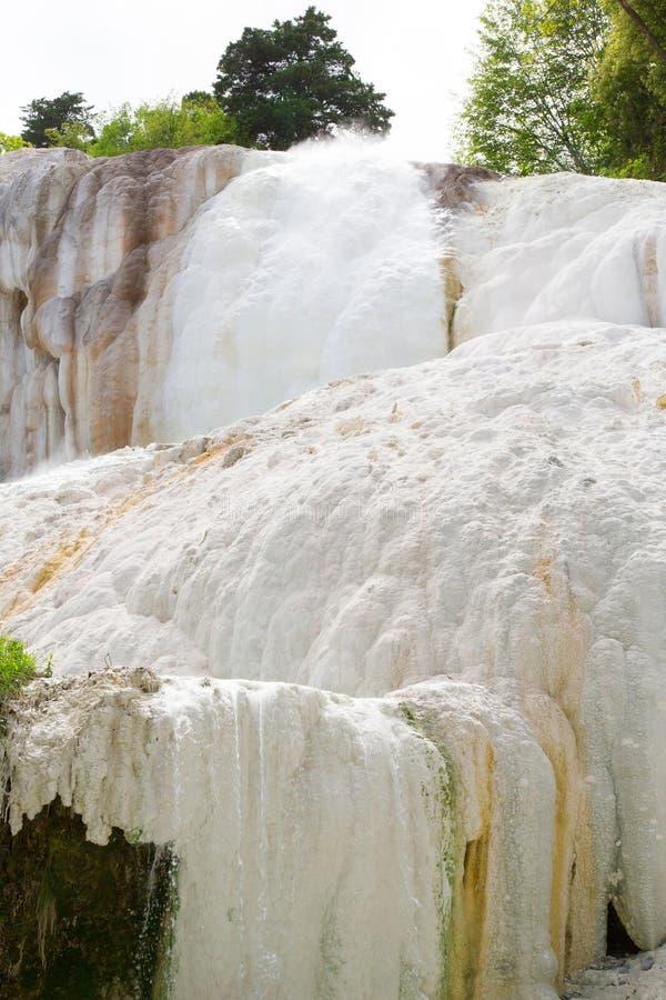 Горячие источники Fosso Bianco в Bagni Сан Филиппо стоковое фото
