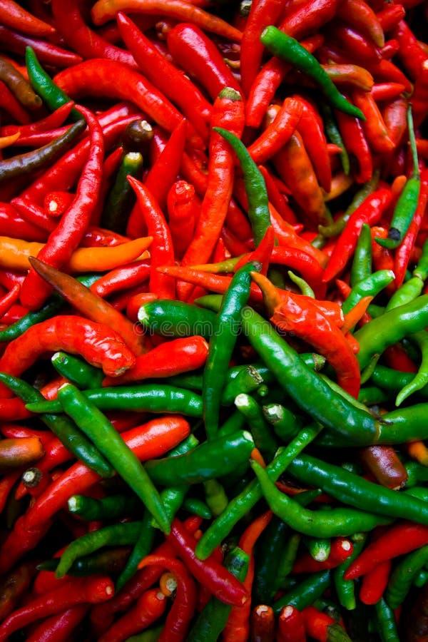 горячие перцы стоковая фотография