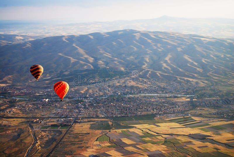 Горячий воздушный шар Kapadokya Турция стоковое изображение rf