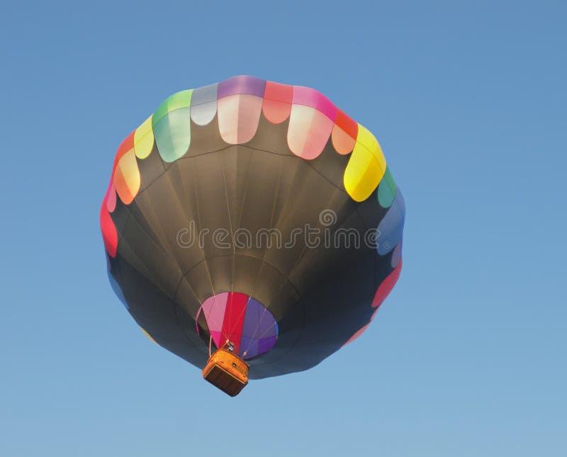 Горячий как раз запущенный воздушный шар стоковое изображение rf
