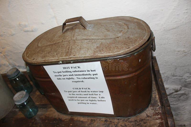 Горячий компресс утвари кухни Амишей стоковые фотографии rf
