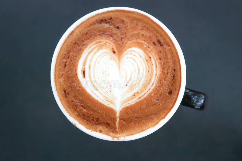 Горячий кофе или горячий mocha стоковое фото