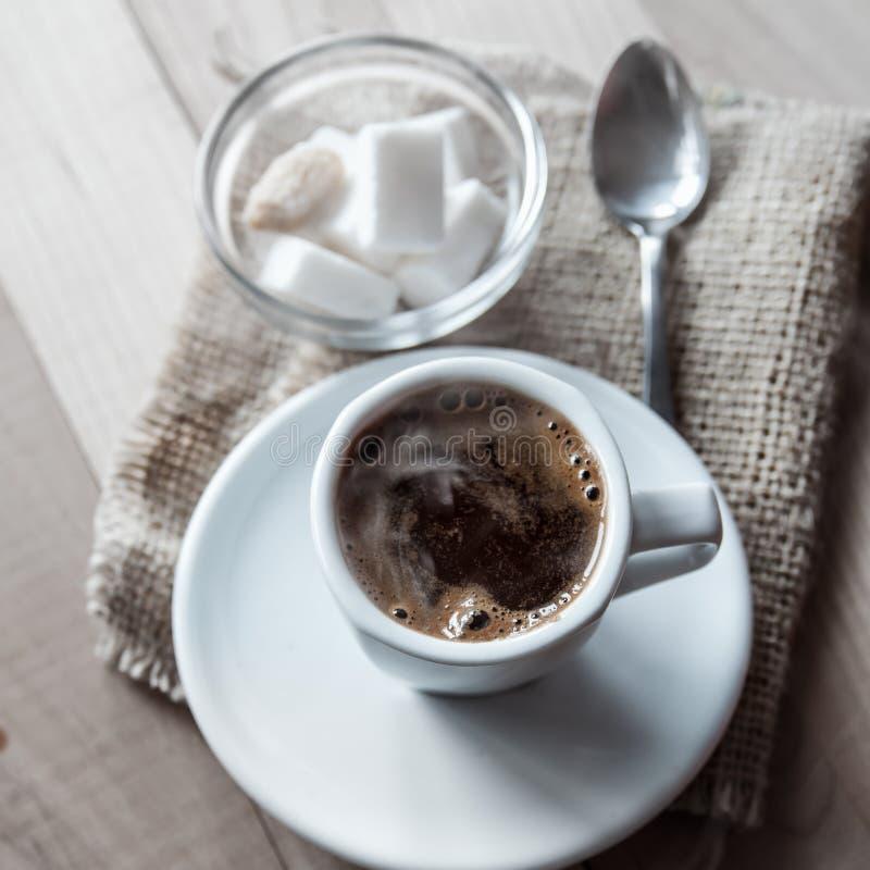 Горячий кофе стоковые изображения rf