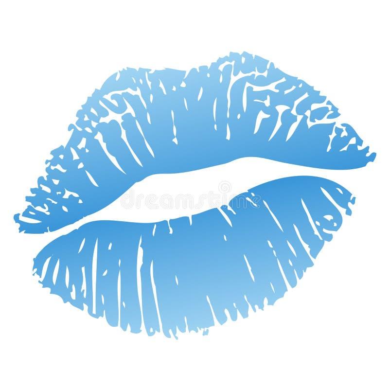 горячий поцелуй иллюстрация штока