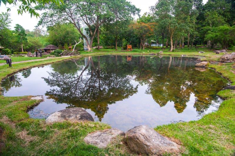 Горячий пруд в Чае Сон стоковая фотография rf