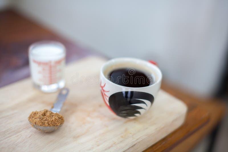 Горячий свежий кофе стоковые изображения rf
