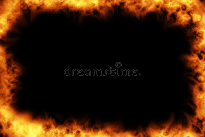 горящая рамка стоковые изображения