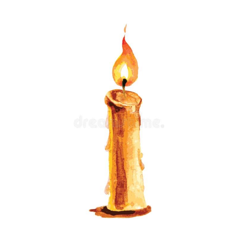 картинка горящая свеча