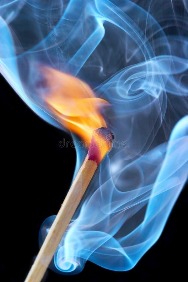 горящее фото спички стоковая фотография rf