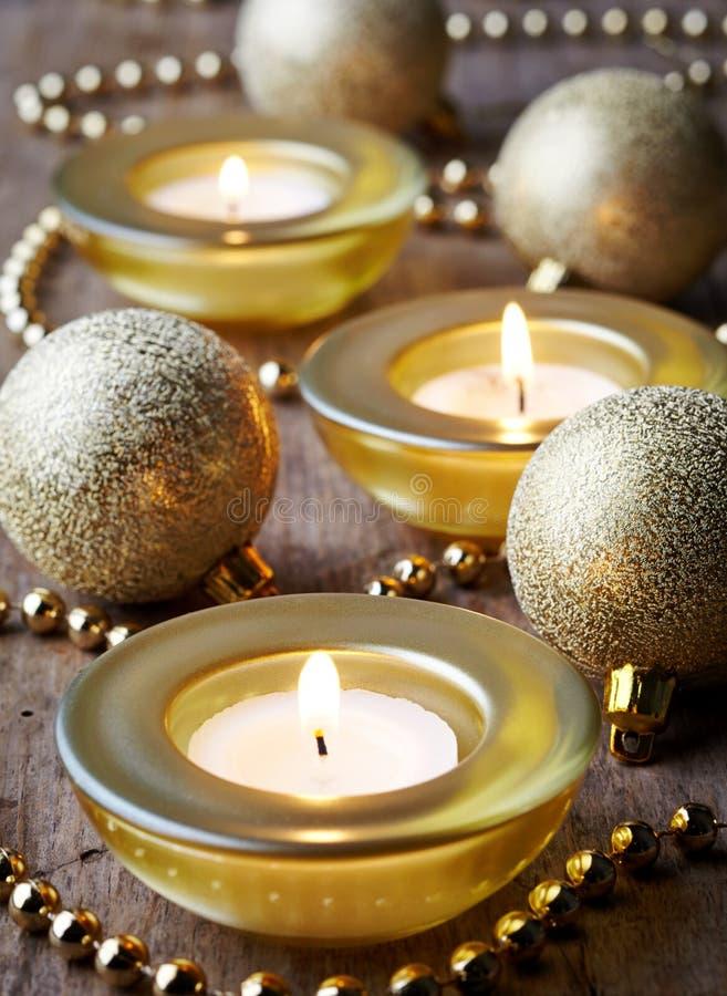 Горящие свечи стоковые изображения