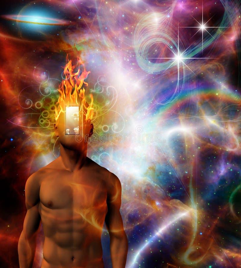 горящий разум бесплатная иллюстрация