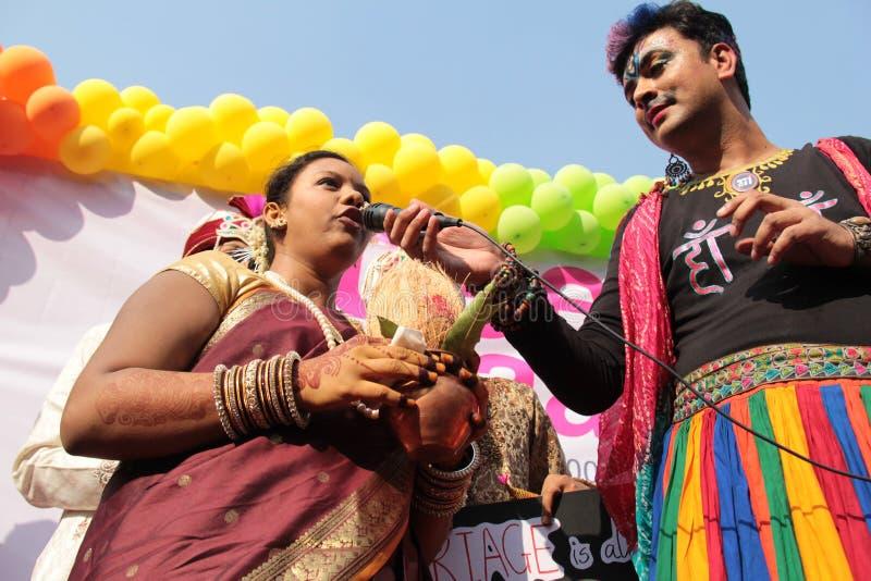 Гордость март в Мумбае стоковое фото