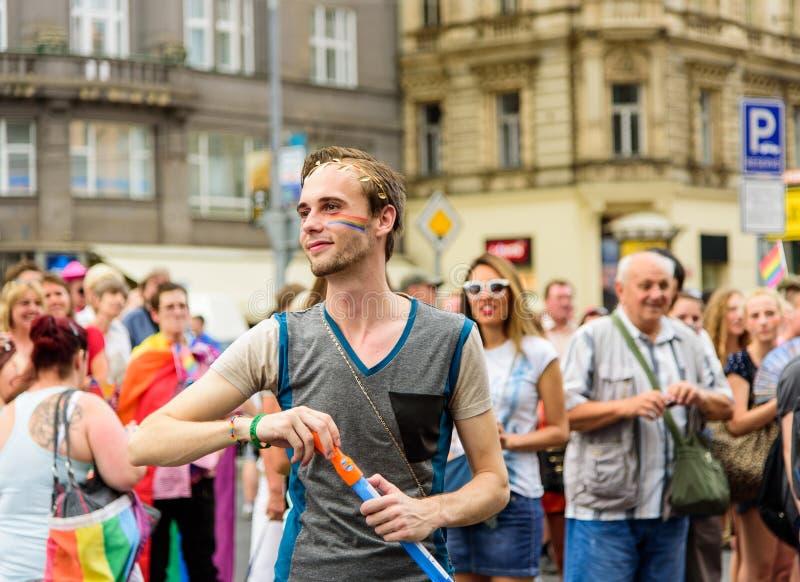 Гордость 2015 Праги стоковые фотографии rf