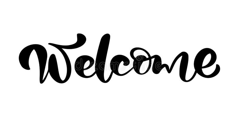 Гостеприимсво текста литерности каллиграфии руки вектора вычерченное Элегантная современная рукописная свадьба цитаты Иллюстрация иллюстрация вектора