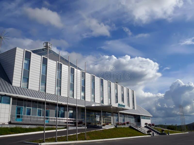 Гостиница айсберга в Nadym, России - 3-ье августа 2007 стоковое изображение rf