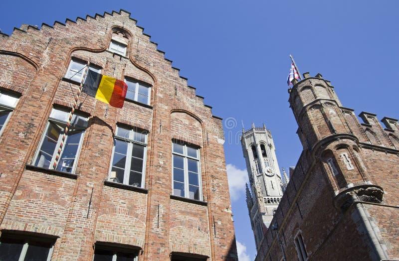 гостиница Бельгии bruges стоковое изображение