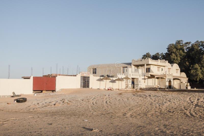Гостиница в пустыне стоковые фотографии rf