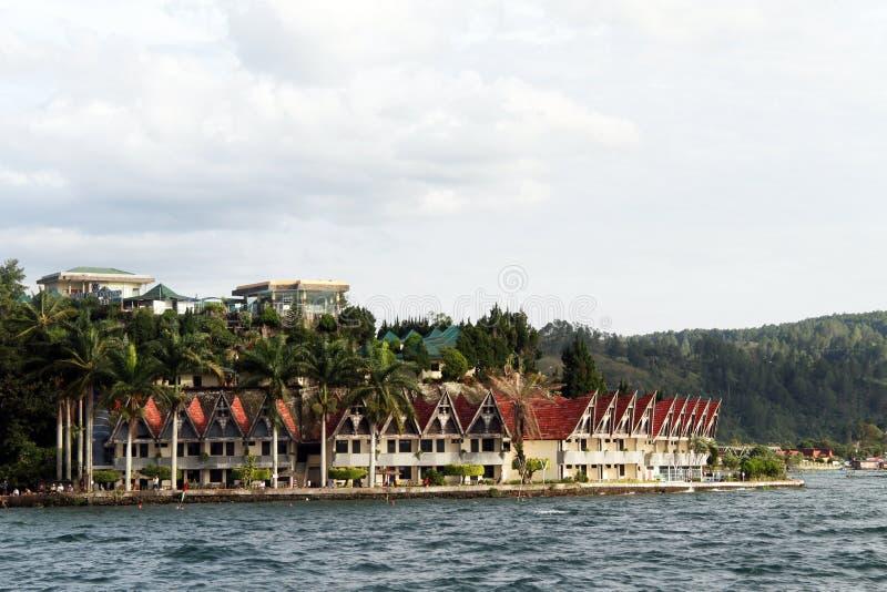 Гостиница в Parapat стоковое фото rf
