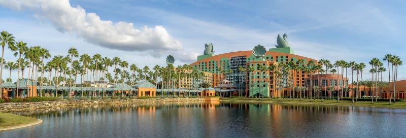 Гостиница лебедя и дельфина, мир Дисней стоковая фотография rf