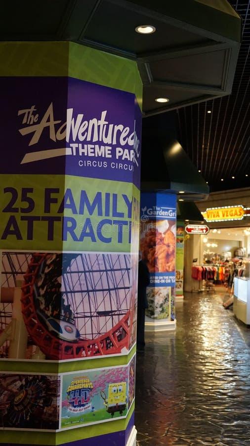 Гостиница и казино цирка цирка в Лас-Вегас, Неваде стоковое изображение
