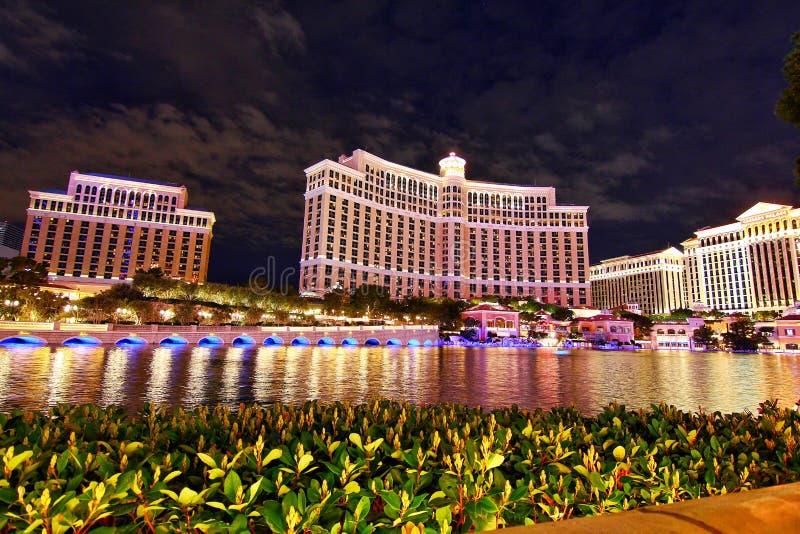 Гостиница и казино Bellagio в Лас-Вегас стоковое изображение