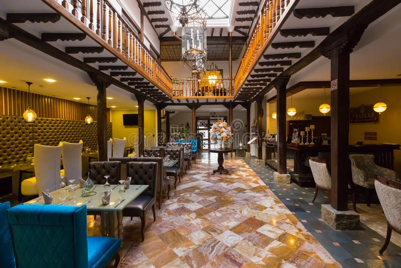 Гостиница и ресторан Cuenca эквадор стоковые изображения