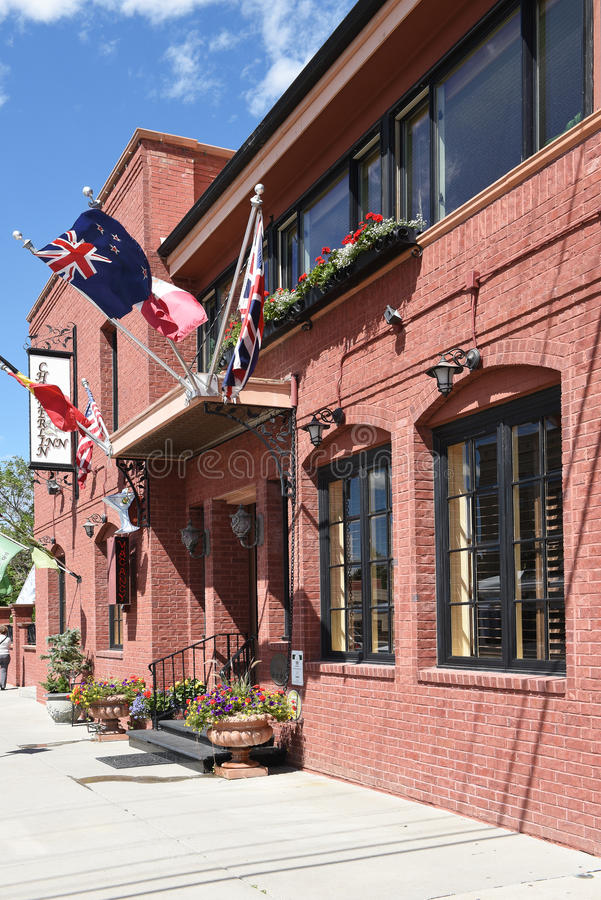 Гостиница Коди Вайоминг Chamberlin стоковое фото