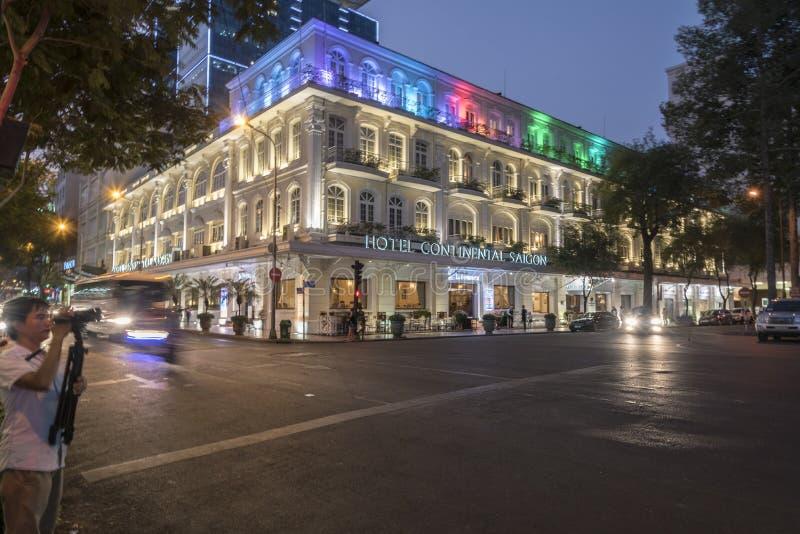 Гостиница междуконтинентальный Сайгон (Хошимин) стоковая фотография