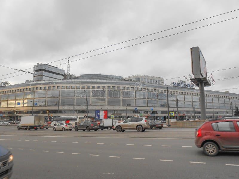 Гостиница Москва в Санкт-Петербурге стоковое изображение