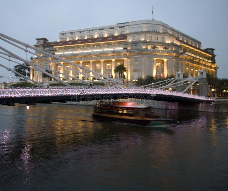 гостиница моста шикарная стоковая фотография