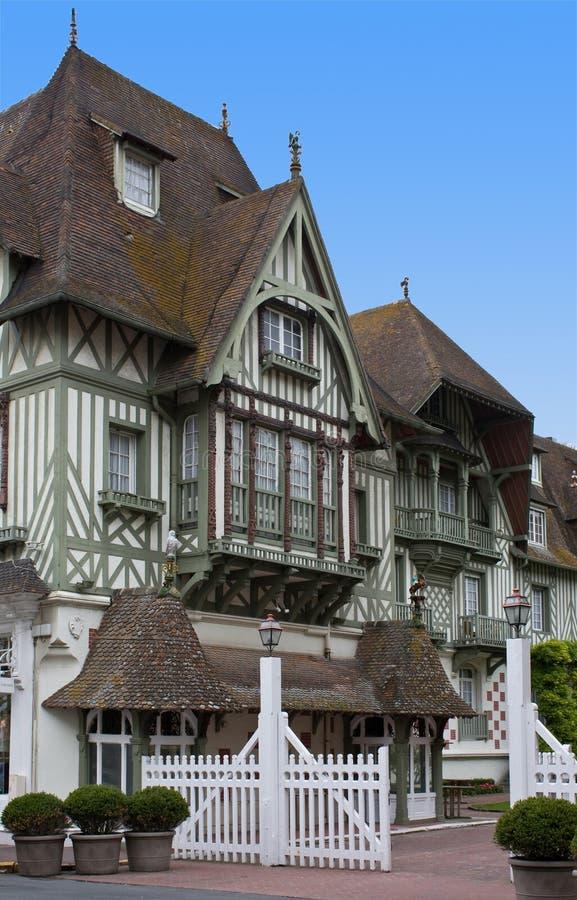 Download Гостиница Нормандия Barriere, Deauville Стоковое Фото - изображение насчитывающей строя, зодчества: 40576892