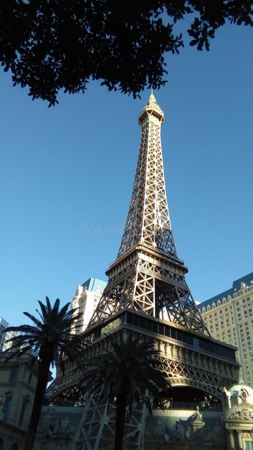Гостиница Парижа в Лас-Вегас стоковые фотографии rf